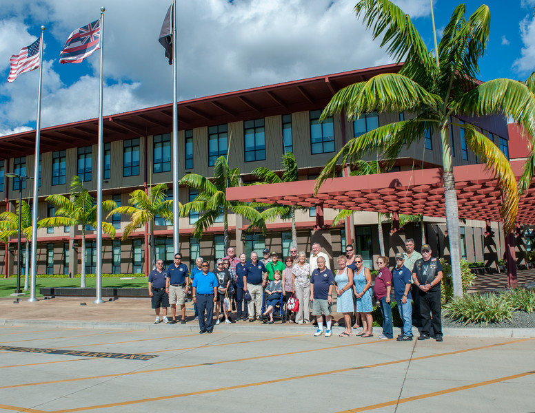 Tours of the DPAA at Hickam AFB