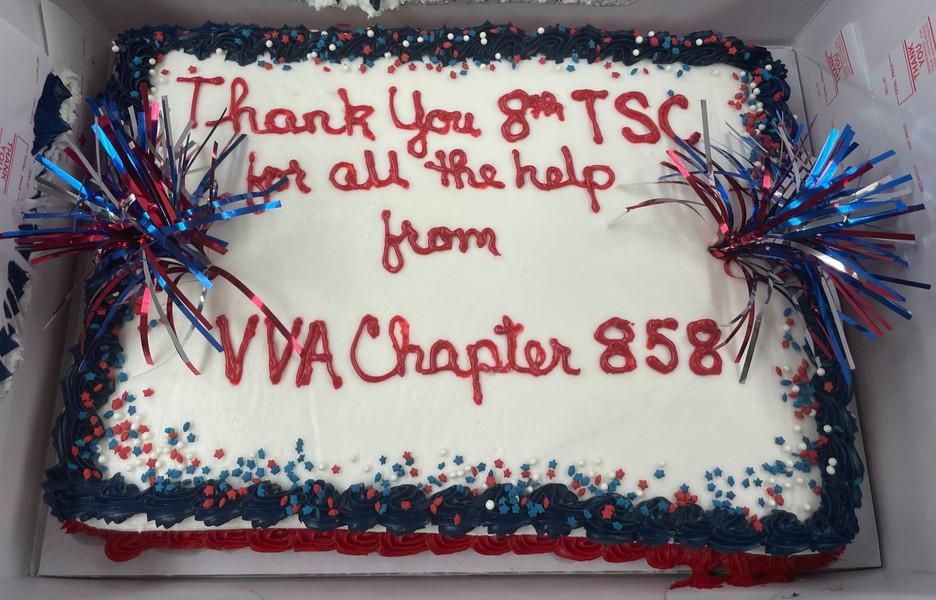 Cake presented to 8 TSC.jpg