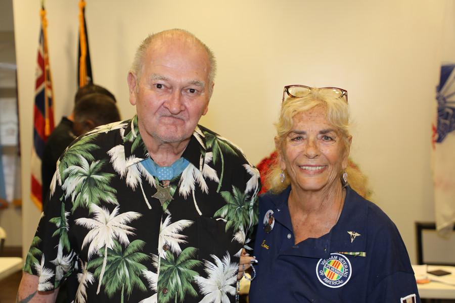 Sgt Major Allan Kellog Medal of Honor Re