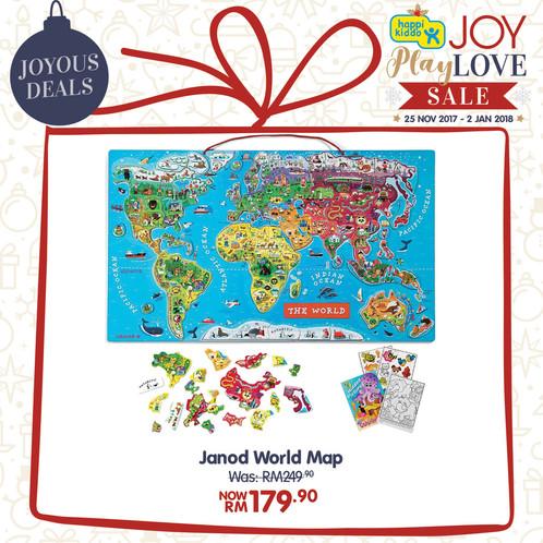 Janod World Map.Janod World Map Happikiddo