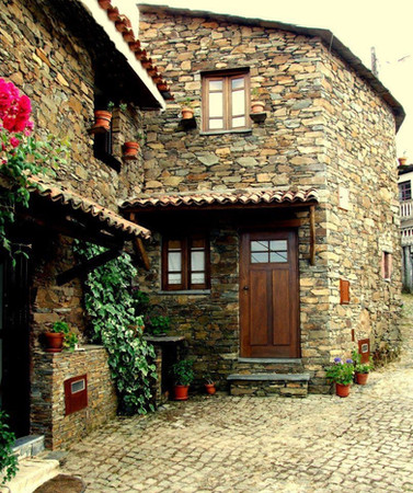 Natural Stone house facade