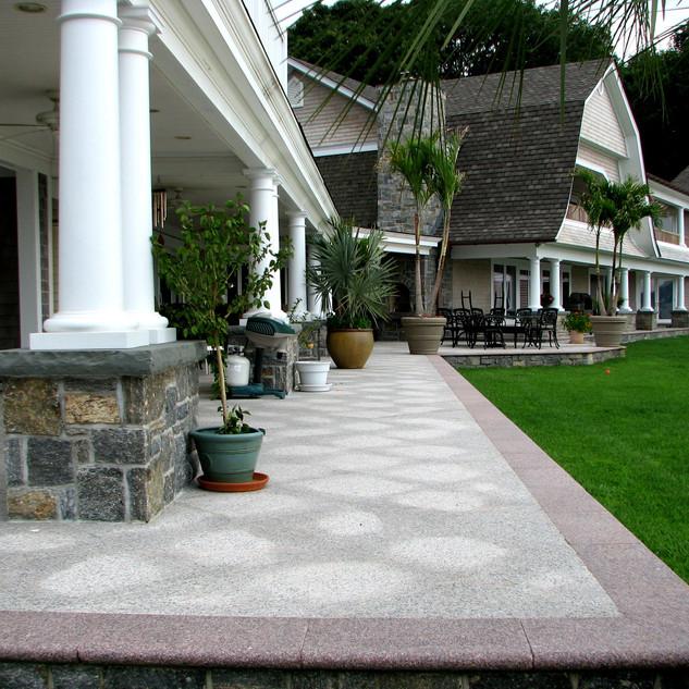 Granite Paving stones patio, Northport N