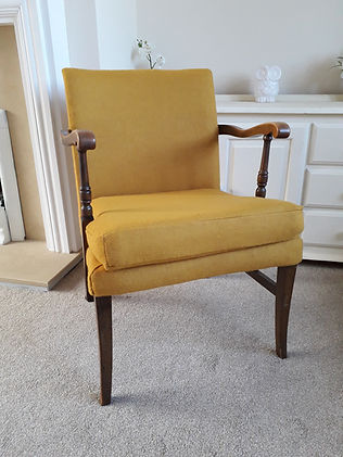 Mustard Yellow Chair
