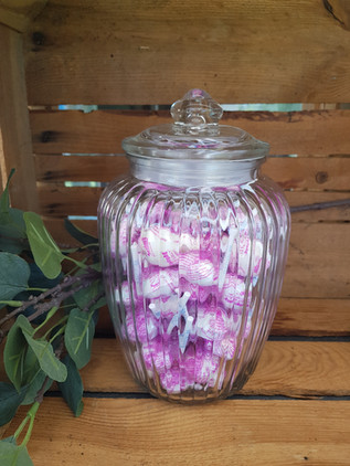 Candybar Glas Marshmallow