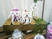 Candybar Glas Makramee