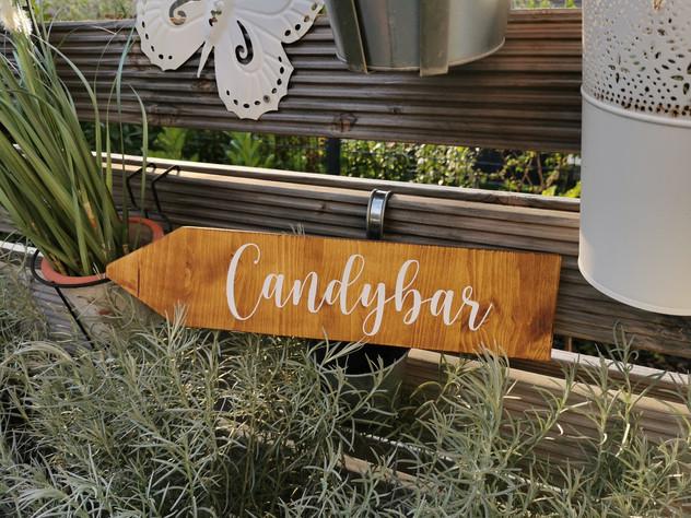 Candybar Wegweiser