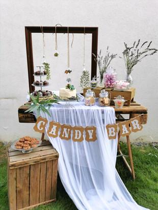 Girlande Candy Bar