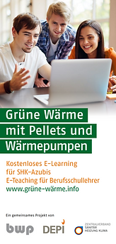 DEPI_Flyer_E-Learning_Grüne_Wärme_Cover.