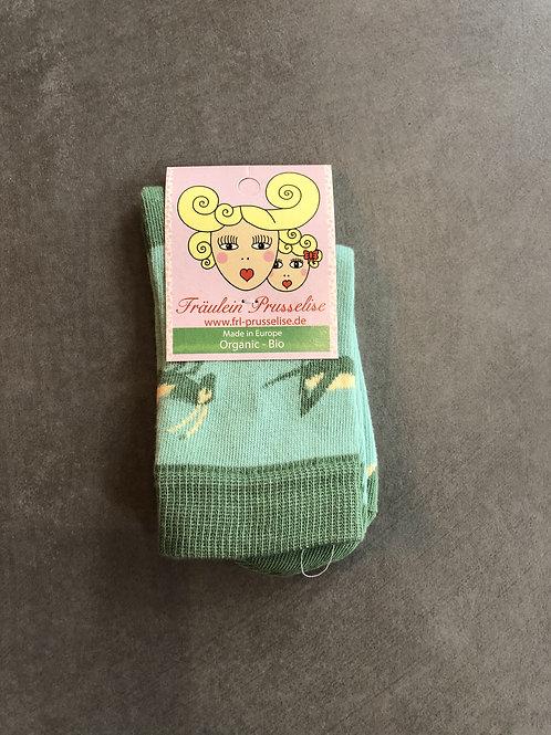 Fräulein Prusselise Socken Grashüpfer