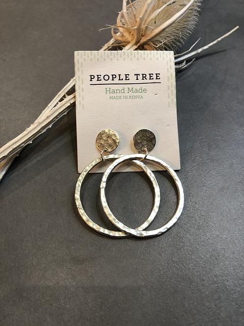 People Tree Ohrring Circle Drop