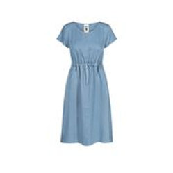 bleed Kleid Light-Breeze Buttoned Lyocell