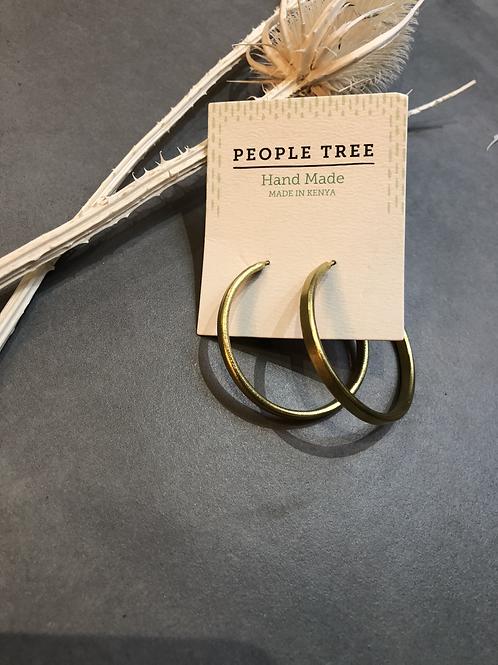 People Tree Ohrringe Simple Hoop