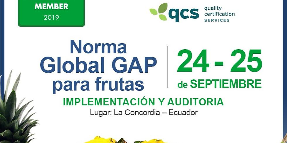 Global GAP Implementación y Auditoria