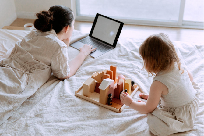 Work-From-Home Survival: 3 Mental Health Tips for Parents of Young Children