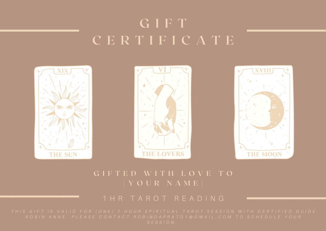 Copy of Copy of Copy of Gift Certificate