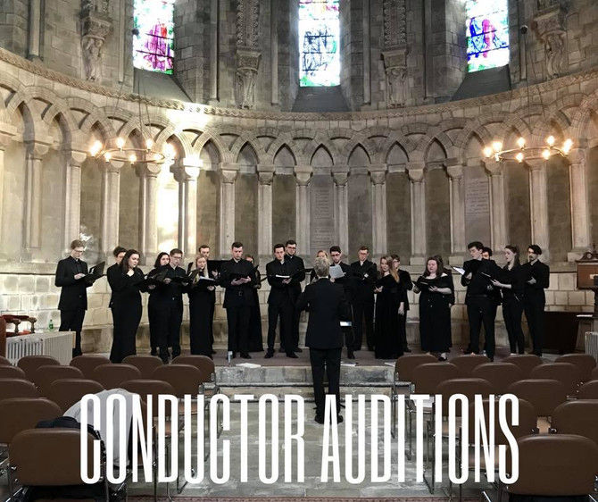 Conductor Auditions 2018/19