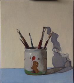 Winnie the pooh and brushes