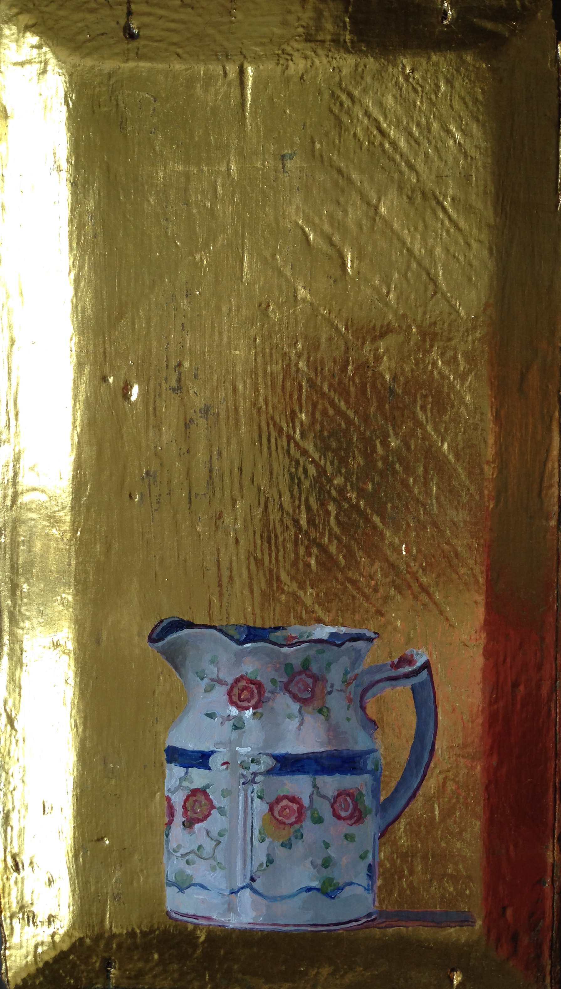 Jug on gold