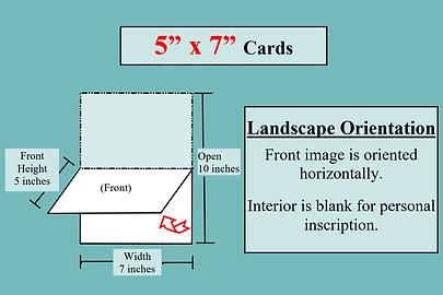 card dimension illustrations 5x7 Landsca