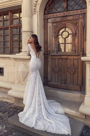 LOTUS GOWN - FLOWER MELODY COLLECTION BY VALERI GROSS