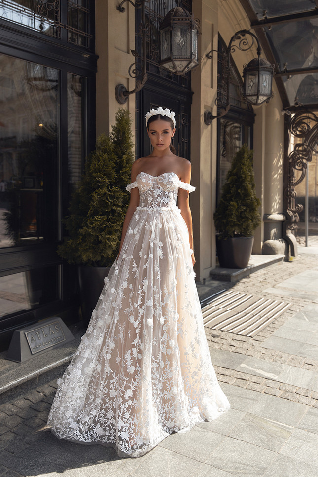 JASMIN GOWN - FLOWER MELODY COLLECTION BY VALERI GROSS