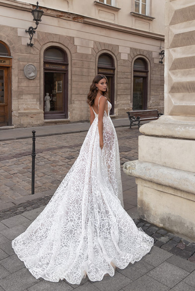 IRIS GOWN - FLOWER MELODY COLLECTION BY VALERI GROSS