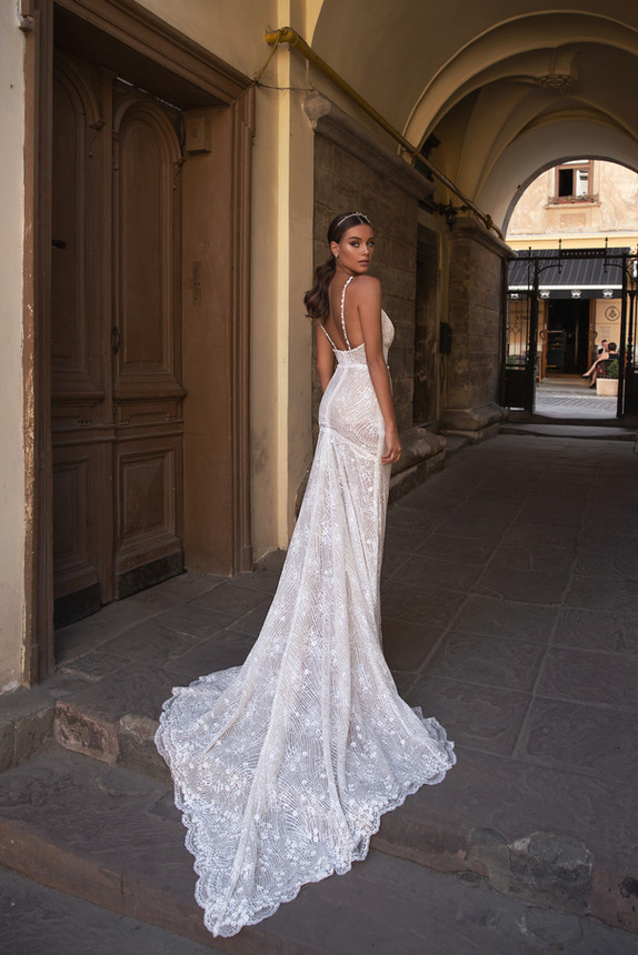 TULIP GOWN - FLOWER MELODY COLLECTION BY VALERI GROSS