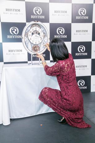 新製品発表会2018 武田玲奈さん