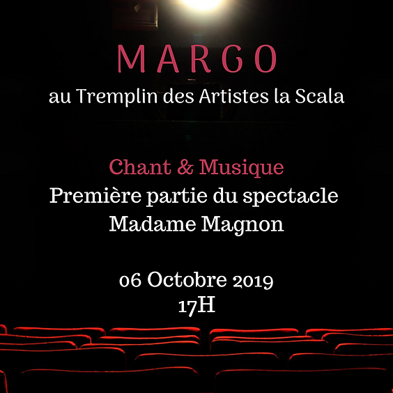 Margo sur Scène