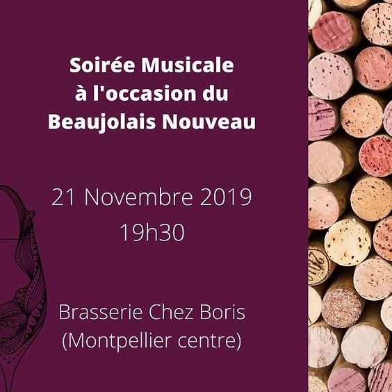 Soirée Musicale Beaujolais Nouveau