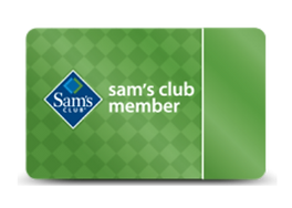 Discount Sam's Club membership that gives back