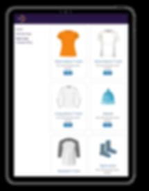 MemberHub e-store with spirit wear