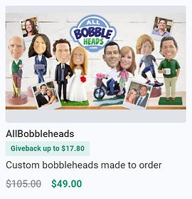 Save on Bobbleheads