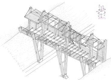 PLB Footbridge in Agios Stefanos