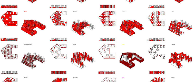 """PLB ReHousing Project """"A city in a City"""""""