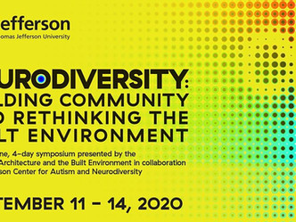 SYMPOSIUM   //   Neurodiversity: Building Community and Rethinking the Built Environment