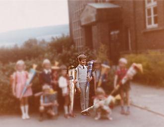 Einschulung 1972