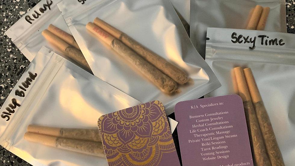 Sample Herbal Puff Blends