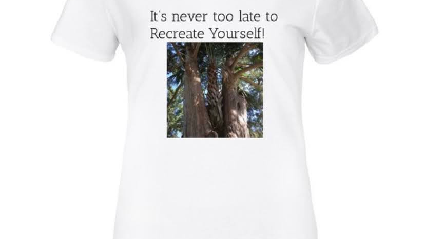 """""""Recreate Yourself"""" T-Shirts"""