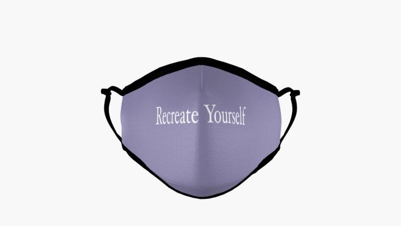 """Recreate Yourself"" Face Masks"