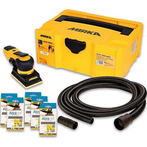 Mirka Deos 353CV 230v Deco Solution Kit