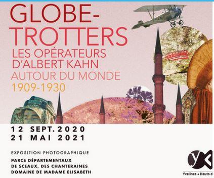 """Le parc de Sceaux expose """"""""Globe-trotters : les opérateurs d'Albert Kahn autour du monde 1909-1930"""""""