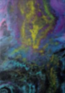 Prospero - Fluid Acrylic Pour by Asha Tank Art