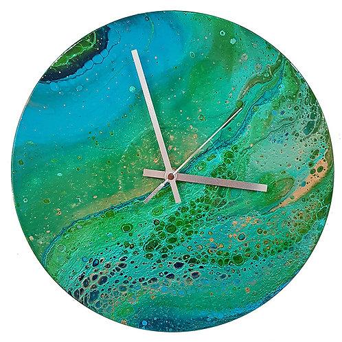 Clock - Lily Pad (#126)