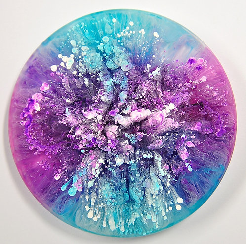 Petri Disc - Blue/Purp (#6108)