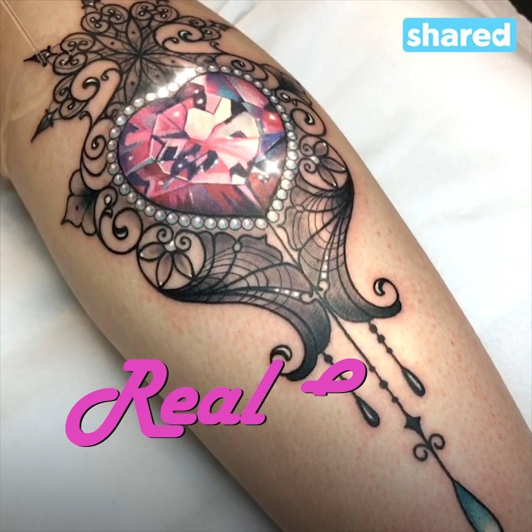 Jenna Kerr Crystal Tattoos