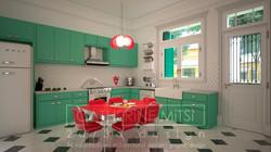 Κουζίνα νεοκλασικής οικίας