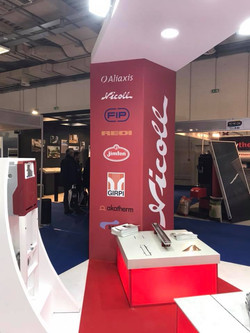 Exhibition booth photos