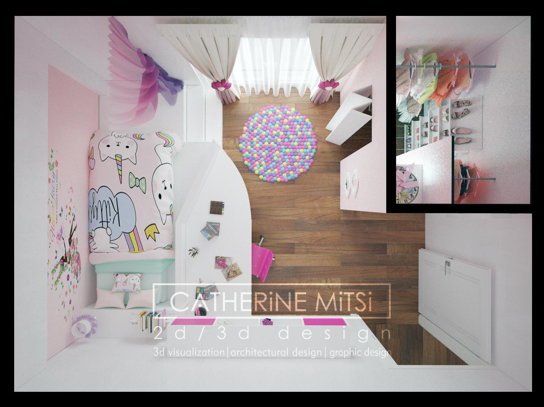 Kids room | 3d visualization