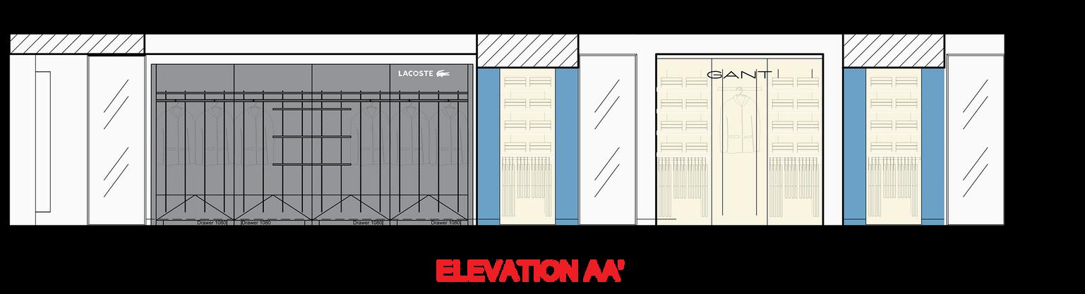 Multi@Attica City Link - 5th floor_Elevation AA